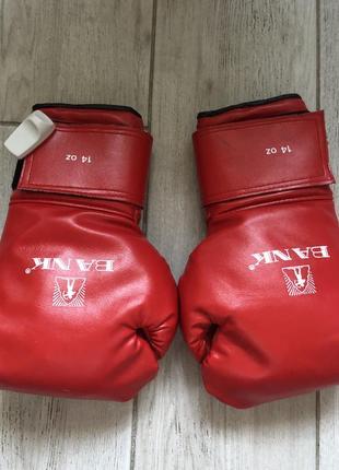 Перчатки для бокса bank