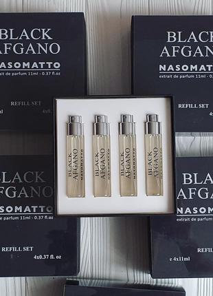 Тестер мініатюра аромату  nasomato black afgano 11ml