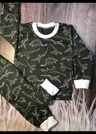 Піжама пижама  діно динозаври
