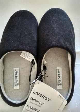 Тапочки для дома livergy