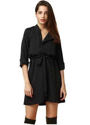 Стильное платье-рубашка от gap xs размера