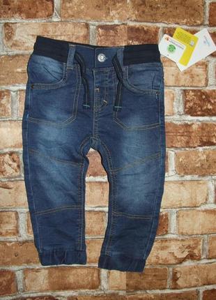 Новые джинсы джоггеры мальчику 1 - 2 года topomini