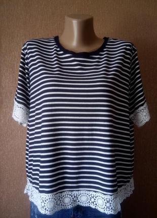 Блузка-футболка f&f