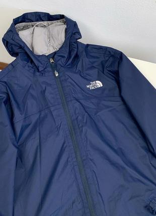 Куртка ветровка the north face original xs-s женский синяя l детский