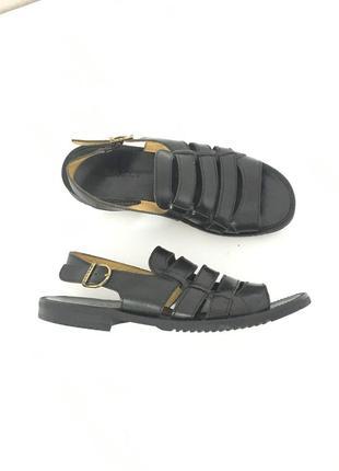 Кожаные мужские сандали bally salorno fishermen