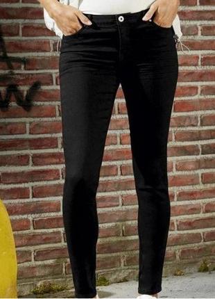 Джинсы черные скини esmara skinny fit jean femme