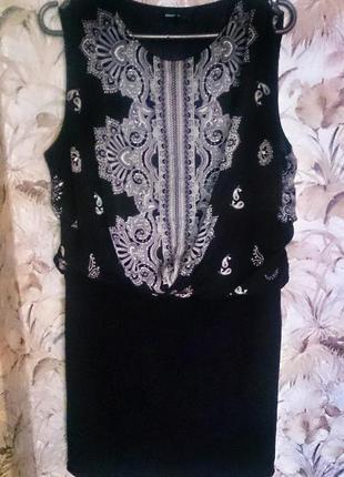 Шикарное платье mango casual 46-48р.