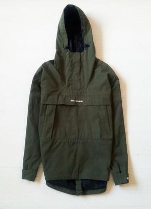 Хаки тактический анорак куртка everest с капюшоном ветровка