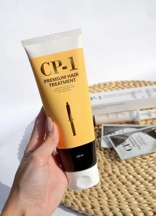Відновлююча протеїнова маска для волосся  esthetic house cp-1 premium  (250ml)