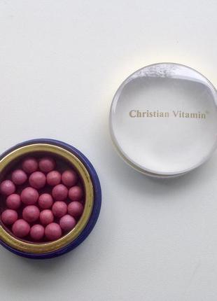 Румяна christian в шариках