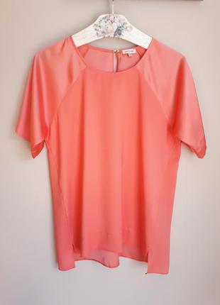 Блуза лососевого цвета