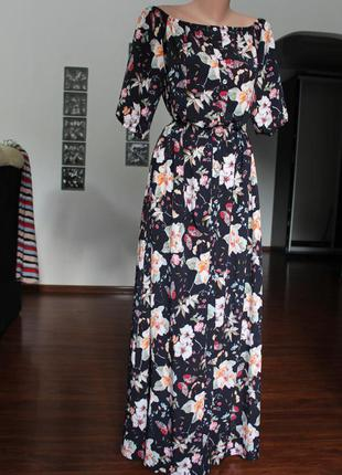 Роскошное платье в пол