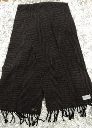 Мужской шарф шерсть бренда roy robson