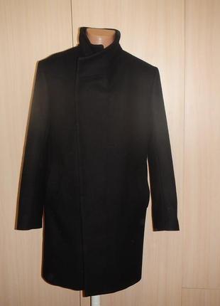 Пальто zara p.48-50(l) шерсть ланы