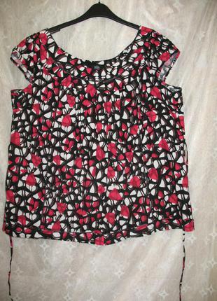 Яркая блуза (размер 24!!)