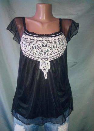 Классная нарядная блузочка h&m /большой выбор брендовой одежды разных размеров /
