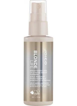 Спрей-вуаль для сохранения яркости блонда - joico blonde life brightening veil spray 150ml