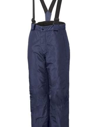 Зимний полукомбинезон, термо лыжные штаны crivit pro (германия), размер 146/152