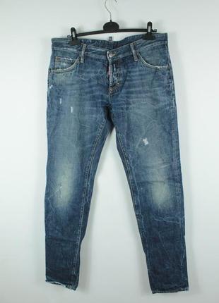 Крутые оригинальные джинсы dsquared2 slim jeans