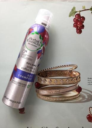 Herbal essences, dry shampoo