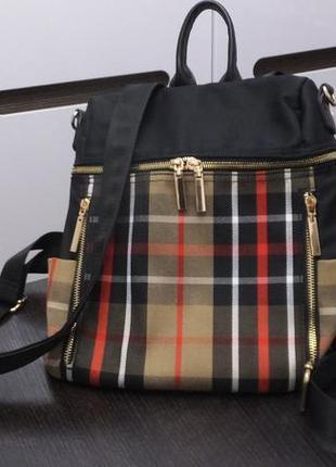 Женский рюкзак сумка burberry one size 31х27х12 см