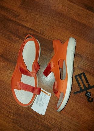 Босоножки, сандали crocs m8w10-26cm