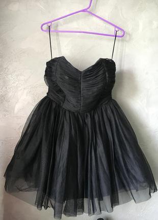 Чёрное платье zara