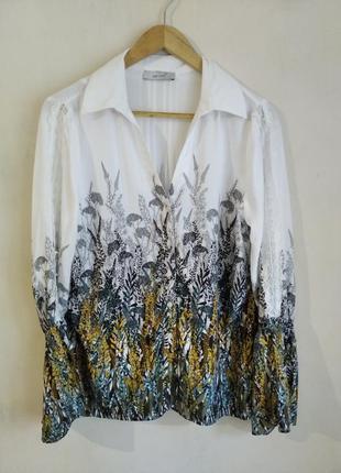 Стильная блуза рубашка peruna m&s