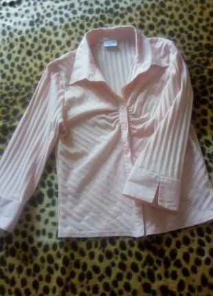 Розовая блуза.розовая рубашка.розовая блуза- рубашка.