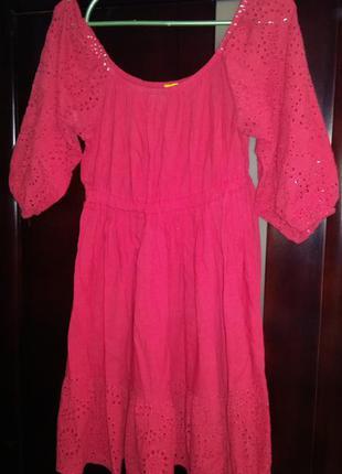 Продам классное летнее платье полностью из натуральной ткани