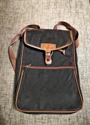Сумка рюкзак с еко кожи