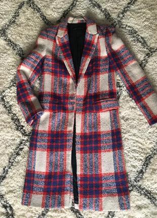 Шерстяне пальто zara