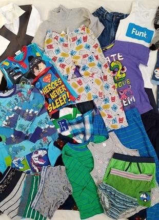 Пакет одежды, 7-8 лет, 29 вещей, пакет вещей мальчику