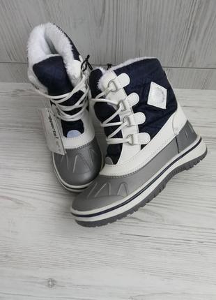 Зимние термо сапоги ботинки германия