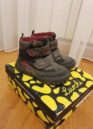 Термо ботинки lurchi by salamander 27 р 17,5 см  сапоги зима geox superfit