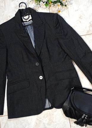 Красивый брендовый пиджак жакет autonomy шерсть