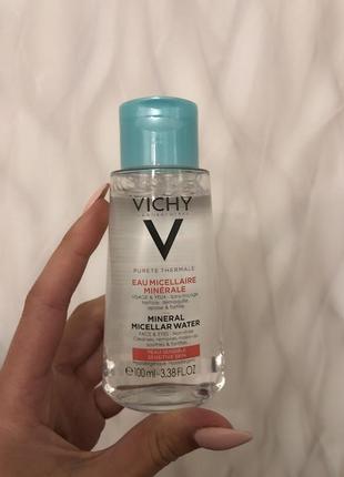 Мицелярная вода vichy