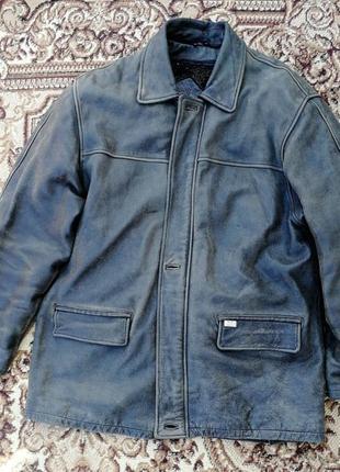 Дубленка куртка пилот мужская xl