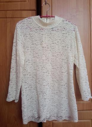 Кружевная блуза