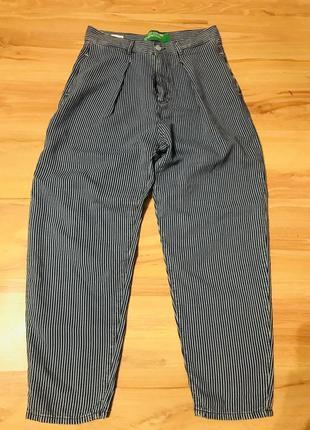 Крутые трендовые брюки 👖 с высокой посадкой benetton