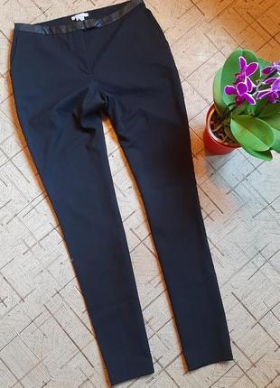 Брюки штаны чёрные h&m 8размер