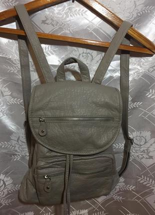 Городской рюкзак кожа