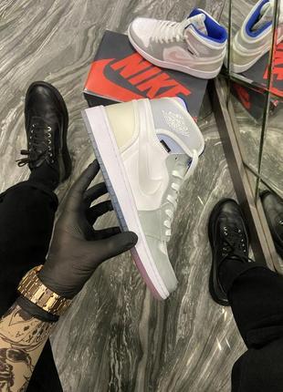 Мужские кроссовки nike air jordan retro high zoom