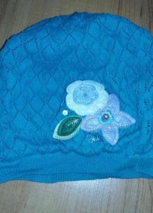 Березовая шапочка детская осень-весна