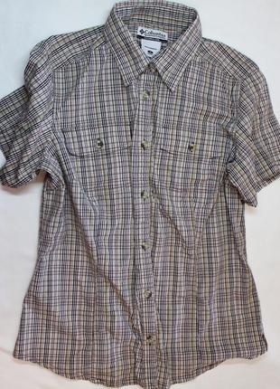 Columbia sportswear  cpmpany оригинал рубашка женская в клеточку