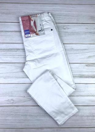 Белые skinny джинсы esmara