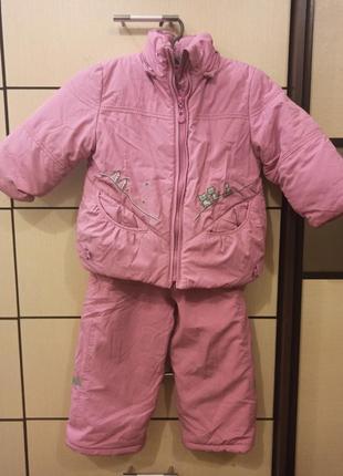 Курточка+комбинезон bilemi  на рост 92 см