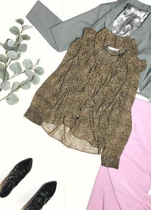 Шок-цена! ⚡️ стильная брендовая рубашка блузка блуза zara р.s