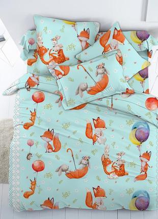 Лисенок и друзья - оригинальное детское постельное белье