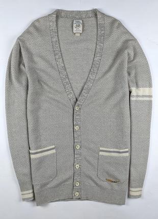 Шикарный кардиган свитер diesel